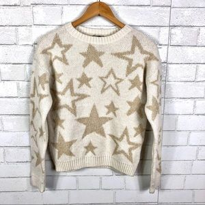 NEW Urban Outfitters, Ecote, Star Print Sweater